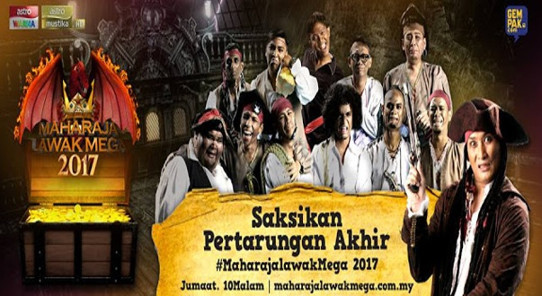 Live Streaming FINAL MLM Maharaja Lawak Mega 2017