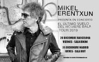 Conciertos de Mikel Erentxun en Barcelona y Madrid