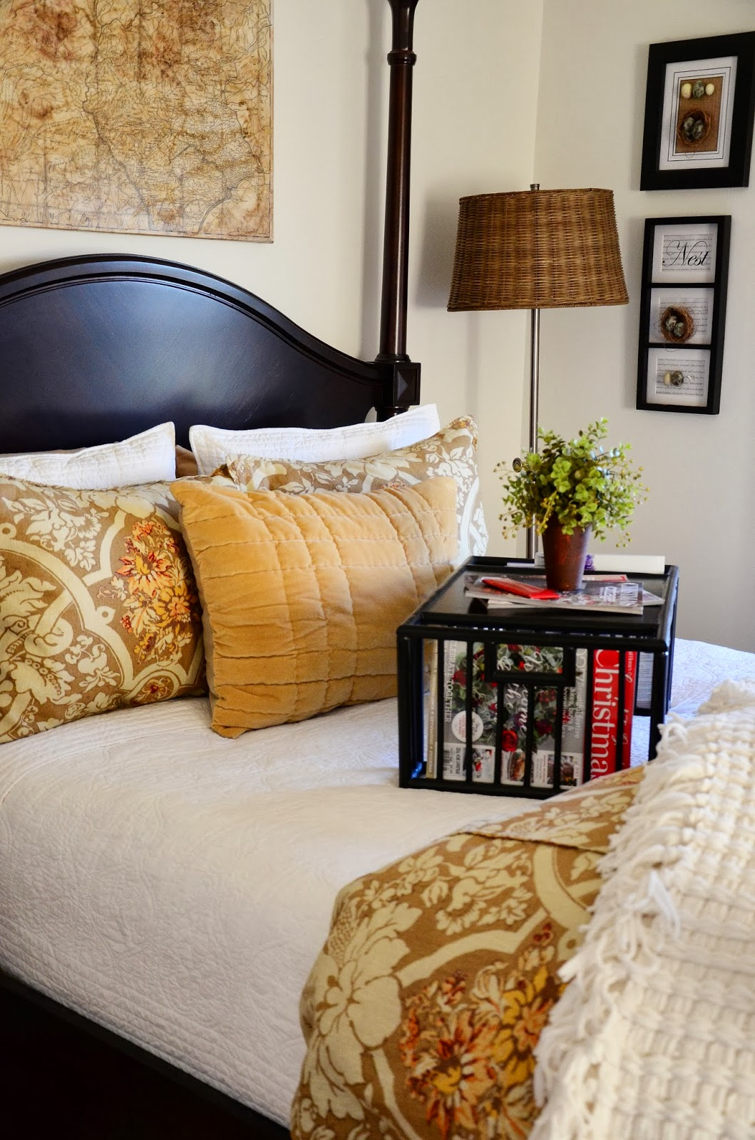 THE MAKING OF A COZY GUEST BED - StoneGable