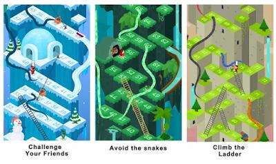 Permainan Android Ular Tangga Saga