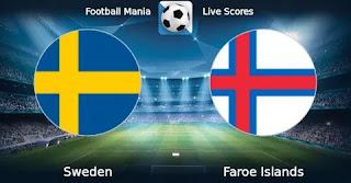 Фарерские острова – Швеция смотреть онлайн бесплатно 5 сентября 2019 прямая трансляция в 21:45 МСК.