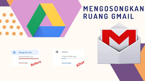 Cara Mengosongkan Ruang Penyimpanan Gmail Yang Penuh