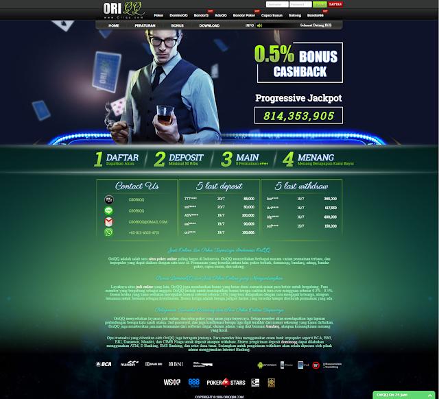 OriQQ situs judi pkv games resmi uang asli resmi terbaru