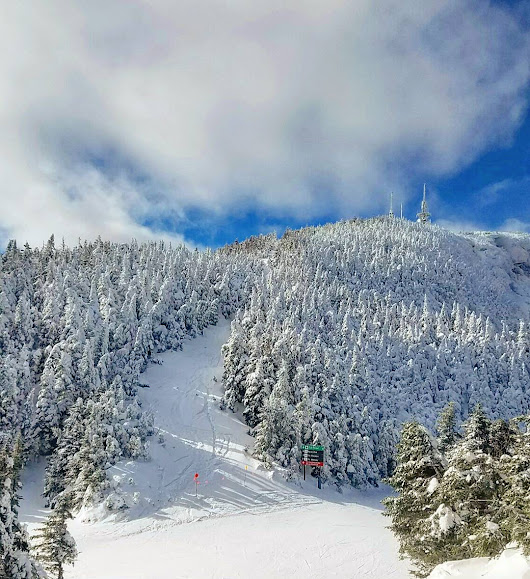 A Winter Wonderland at Stowe Mountain Resort and Lodge