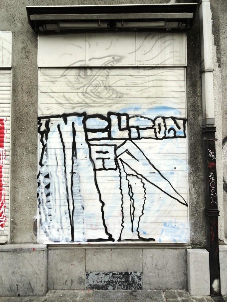tags et graffiti sur des maisons