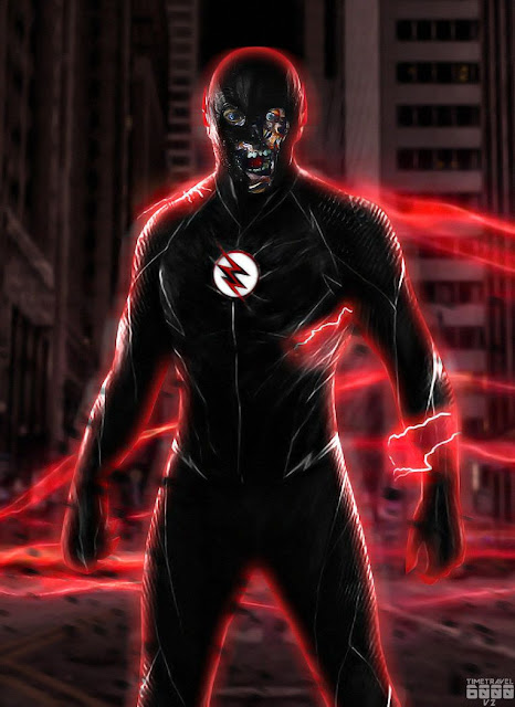 Black-Flash-HD-Wallpaper-For-Mobile-iPhone