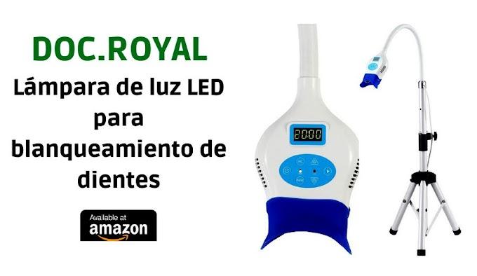 Lámpara de luz LED para blanqueamiento dental
