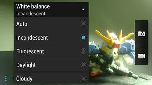 Pengaturan white balance pada kamera smartphone