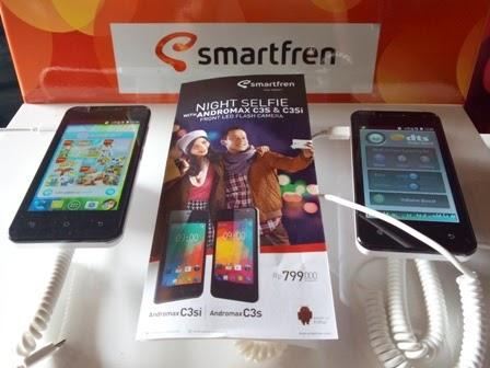 Harga Smartfren Andromax C3S dan C3Si Terbaru 2015