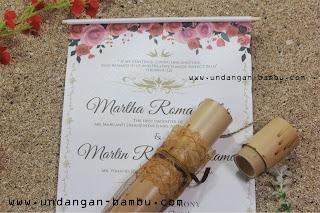 Undangan Pernikahan Bambu Undangan Jasmin