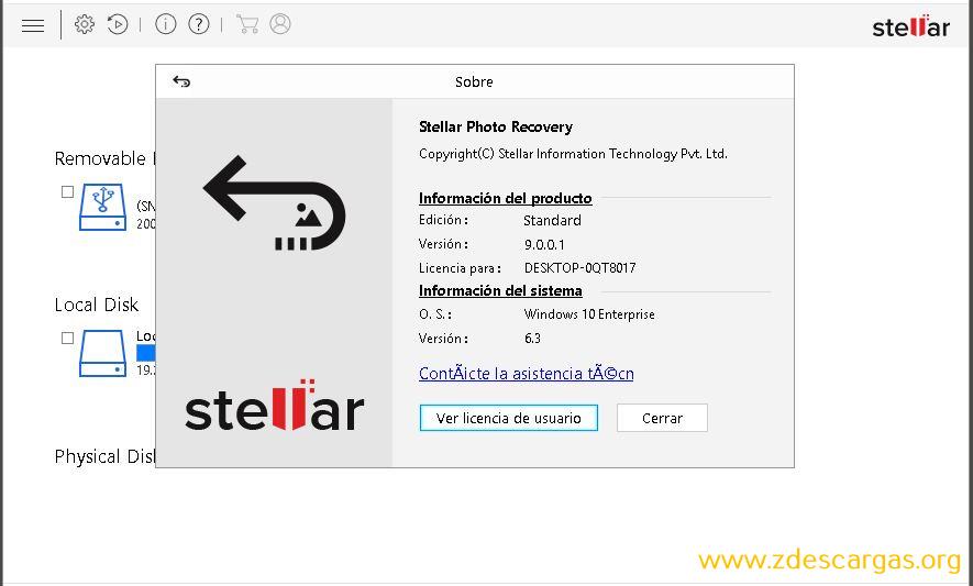 Stellar Photo Recovery Full Español