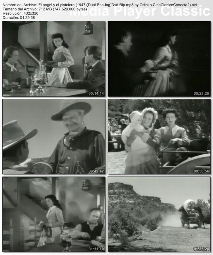 El ángel y el pistolero   1947   Secuencias de la película