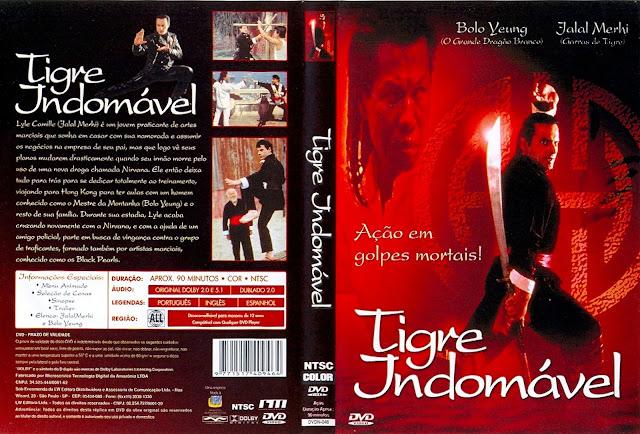 Capa DVD Tigre Indomável