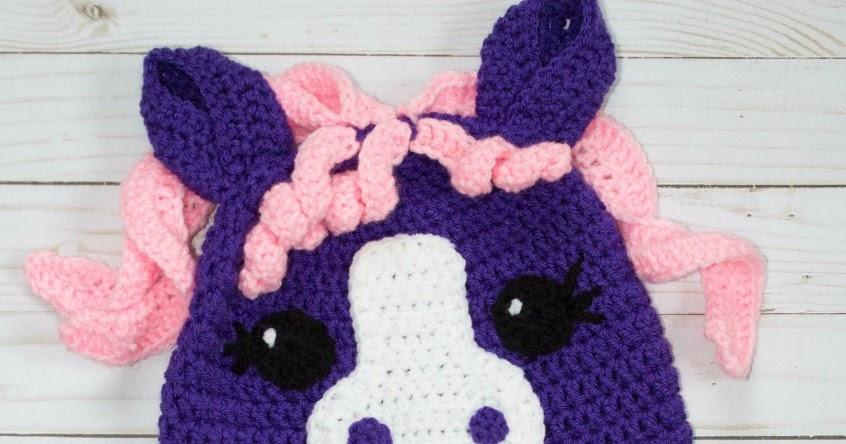 Free Crochet Little Pony Hat The Friendly Red Fox