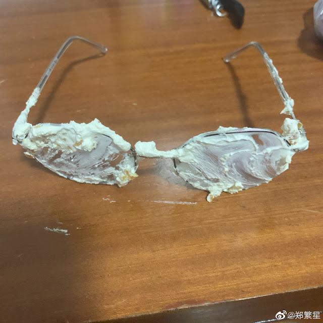 zheng fanxing birthday fail