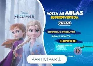 Cadastrar Promoção Oral-B Ingresso Frozen 2 Volta às Aulas 2020 Superdivertida