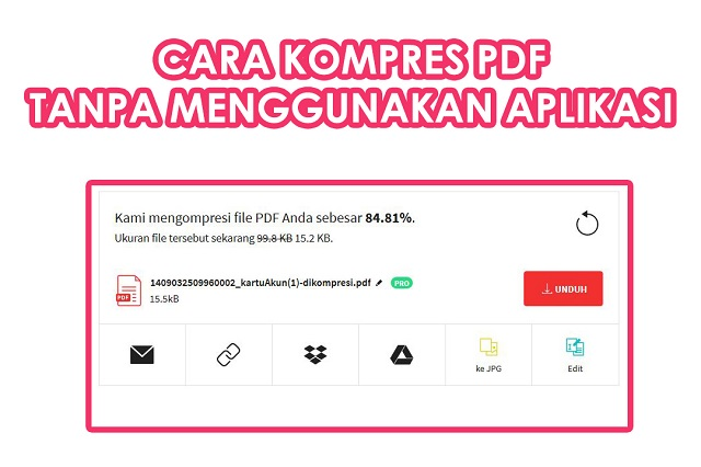 Cara Kompres PDF Online