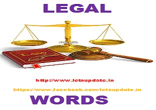 legal words and meaning-letsupdate