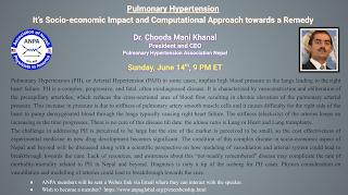 Pulmonary Hypertension   It's Socioeconomic Impact and Computational Approach towards a Remedy    Dr. Chooda Mani Khanal