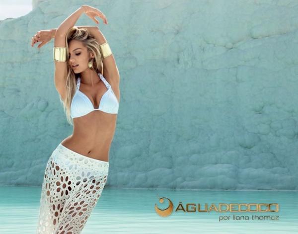 HOT Ad Campaign: Candice Swanepoel for Agua de Coco