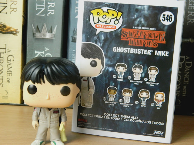 Ghostbuster Mike Stranger Things Funko Pop Vinyl