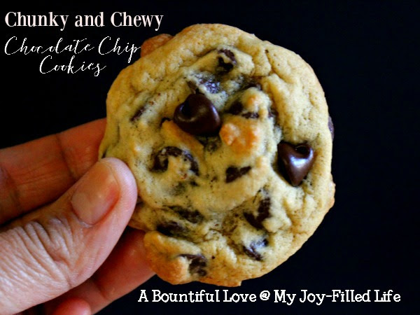 Chunky and Chewy Chocolate Chip Cookies