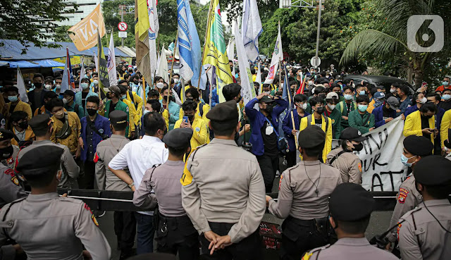 Larang BEM SI Demo di Depan KPK, Polisi: Kalian Sudah Trending Topic!