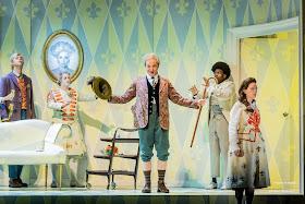 Strauss: Der Rosenkavalier - Brindley Sherratt as Baron Ochs, Glyndebourne 2018 (Photo Robert Workman)
