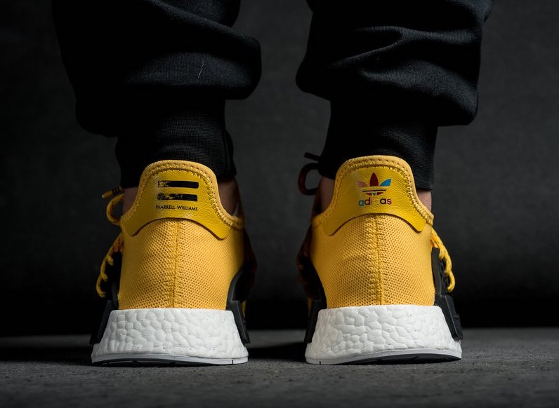 0033ac112ec4 MUST SEE  THE FIRST TRIPLE BLACK ADIDAS NMD HUMAN RACE
