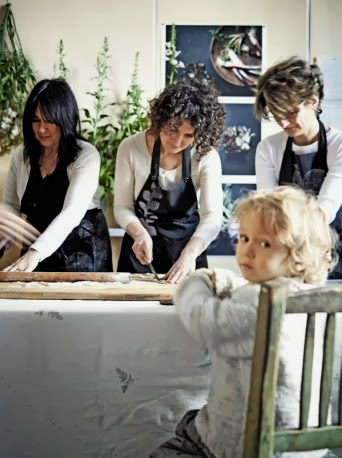 Life & Home | Italian Style: Atelier Romantico & Ricette Vegane, Italy