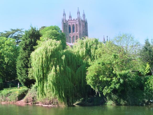 River Wye Hereford, Cathedral