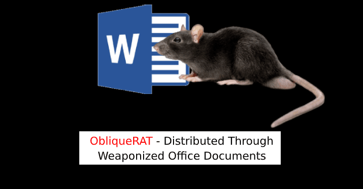 ObliqueRAT via Office files