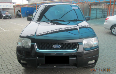 Eksterior Ford Escape Prefacelift