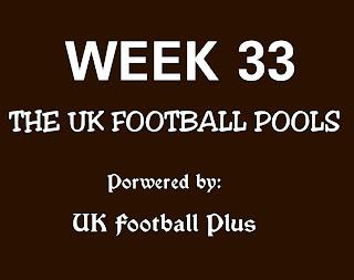 WK 33 banker draws on coupon powered by www.ukfootballplus.com