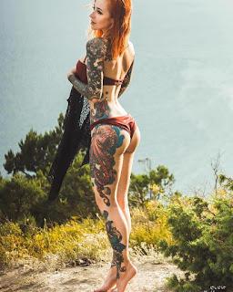 Chica Tatuada de la Semana #4