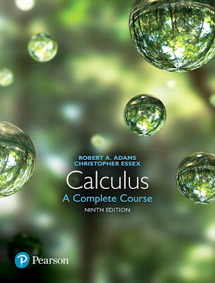 Calculus-A Complete Course 9th edition