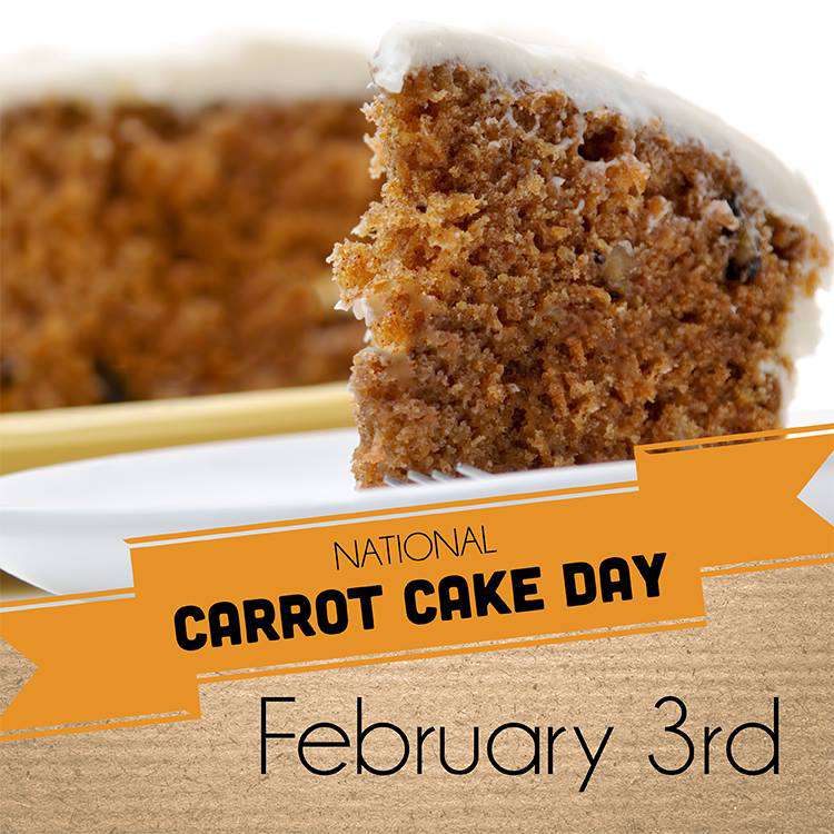 National Carrot Cake Day Wishes