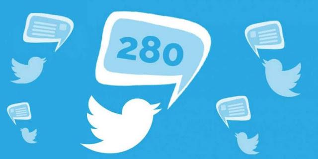 تغريدة «تويتر» أصبحت تحتوي 280 حرفاً