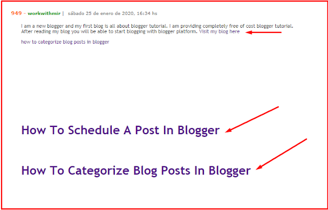 Create Backlinks For Your Blog