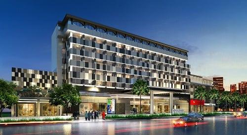 Tampilan Hotel Le Polonia Medan