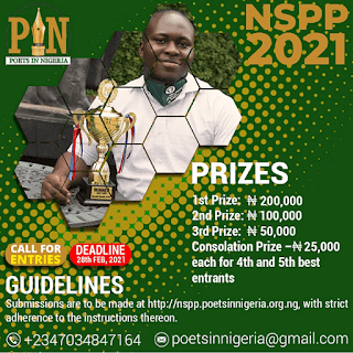 Nigerian Students Poetry Prize (NSPP) Guidelines 2021 [6th Edition]