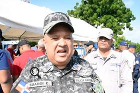 """BARAHONA: General Suardi Correa: """"garantizamos seguridad de la ..."""