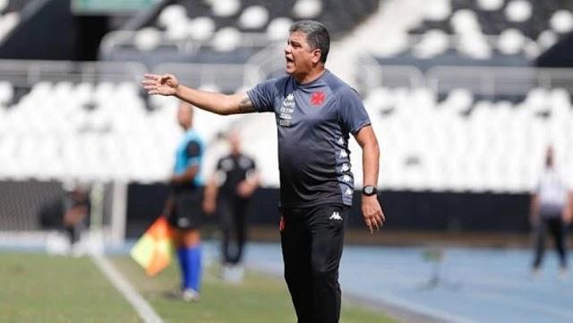 Marcelo Cabo não é mais treinador do Vasco da Gama