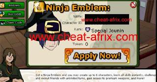 Cheat Token 2012
