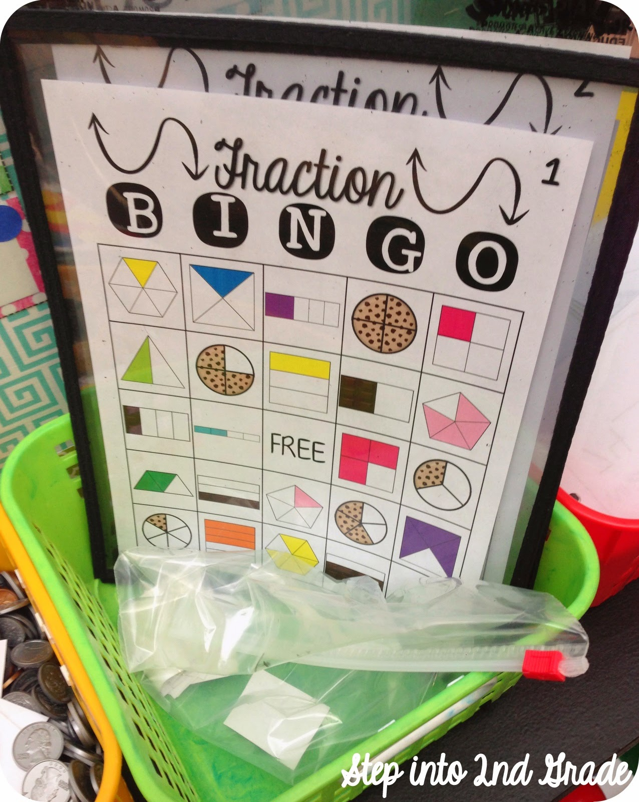 Step Into 2nd Grade With Mrs Lemons Fraction Overload