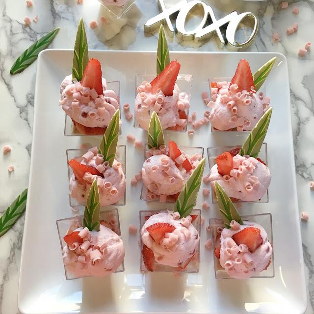 Gold-Leaf-Gourmet-Strawberries-and-Cream-Verrines-Recipe