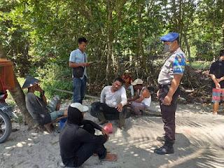 polisi sergai dan nelayan