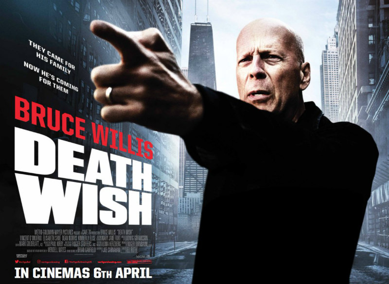 death wish bruce willis poster
