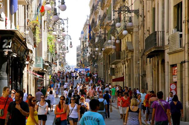 compras em barcelona