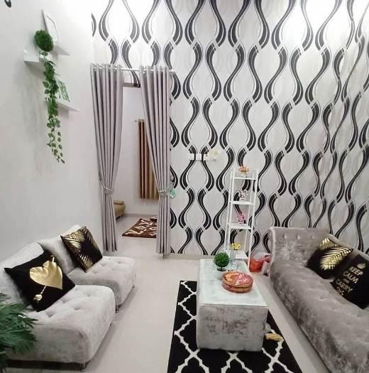 Desain ruangan rumah minimalis type 45